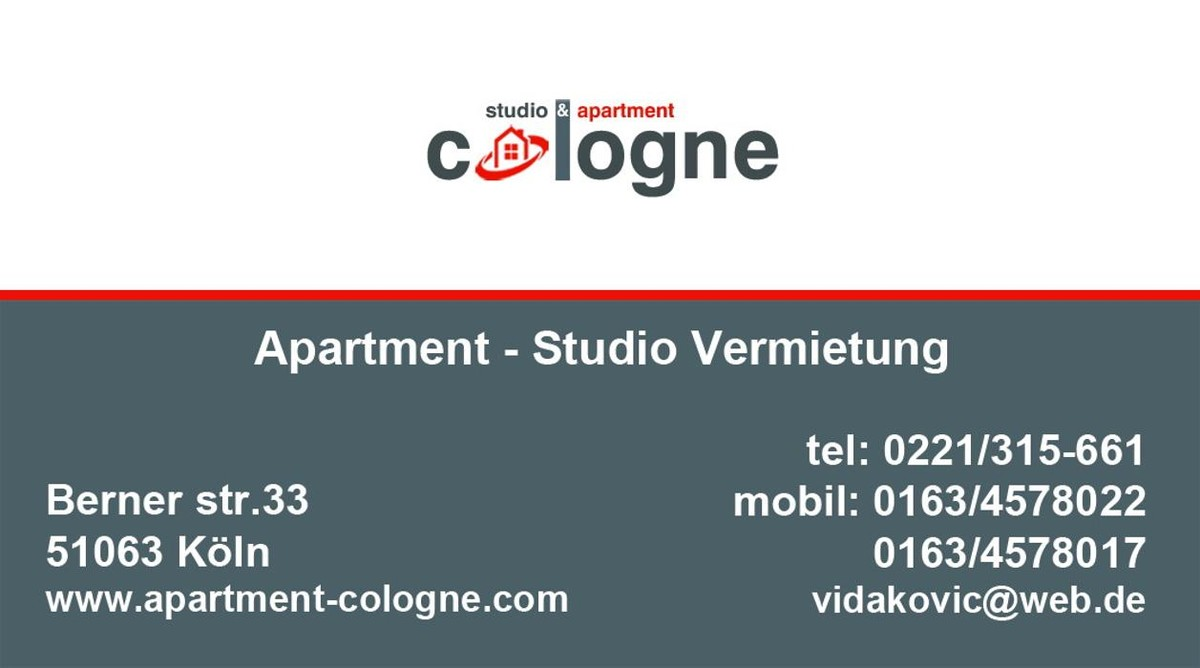 Bilder Apartment Cologne
