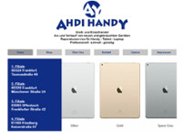 AHDI HANDY Kommunikation website screenshot