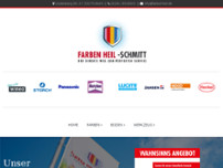 Farben Heil-Schmitt Bonn website screenshot