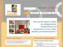 Die Lernvilla website screenshot