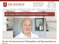 Jürgen Römer website screenshot