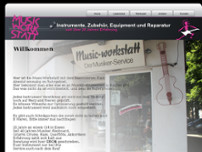 Wolfgang Geyda website screenshot