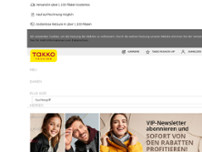 Takko ModeMarkt GmbH & Co. KG website screenshot