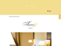 Sonnenhof Restaurant website screenshot