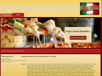 Pizzeria Pizza Pazza website screenshot