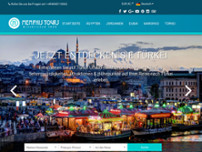 Memphis Tours Reiseveranstalter website screenshot
