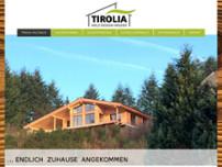 Tirolia Holzhaus tirolia gmbh holz design häuser bauunternehmen in seiwerath tiroliaweg 1