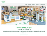 Vorwerk Store Dortmund website screenshot