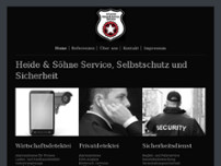 Heide und Söhne Service website screenshot