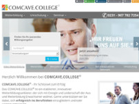 COMCAVE.COLLEGE GmbH website screenshot