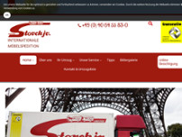 Bernhard Storck jr. GmbH website screenshot
