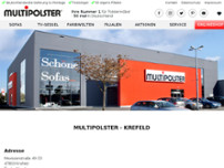 Multipolster -  Krefeld website screenshot