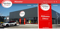 KüchenTreff Münster website screenshot