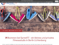 SpreeFIT - Kurse für Dich website screenshot