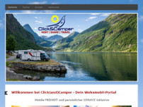 Click&Camper website screenshot