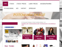 FOTOstudio IMAGE website screenshot
