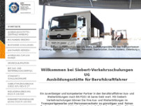 Siebert Verkehrsschulungen website screenshot