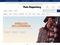 Peek & Cloppenburg website screenshot