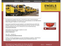 Engels Containerdienst GmbH website screenshot