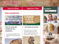 Bäckermeister Grobe GmbH & Co. KG Tremoniastr. website screenshot