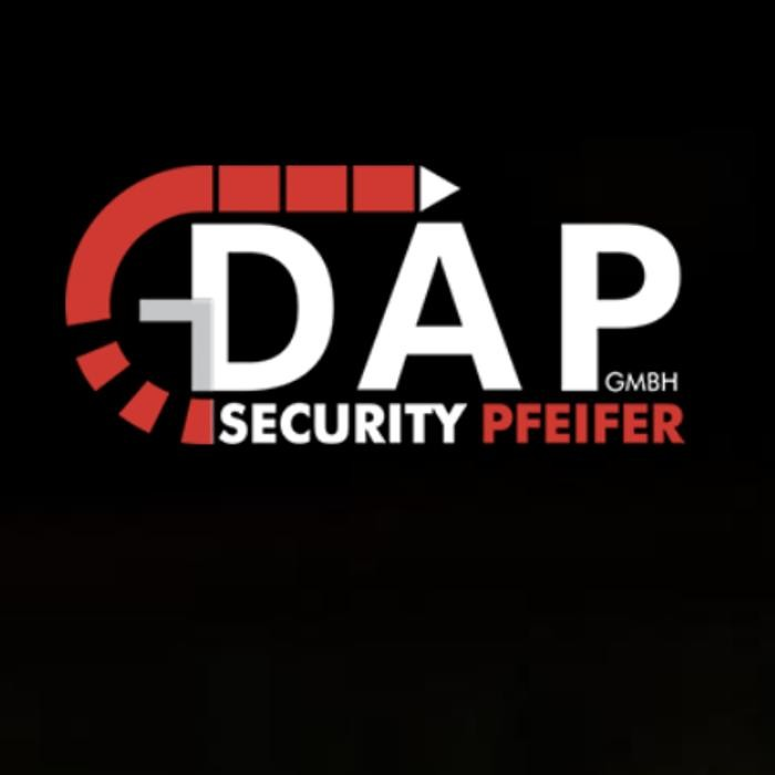 DAP Security Pfeifer GmbH Security u. Logistik Logo