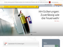 SIBA GmbH website screenshot