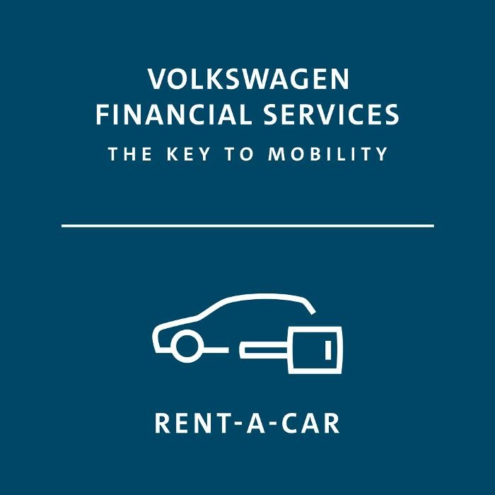 VW FS Rent-a-Car - Frankfurt West Logo