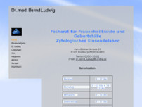 Bernd Ludwig website screenshot