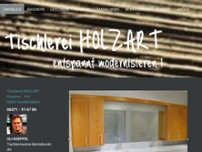 Tischlerei Holzart Uli Goeppel website screenshot