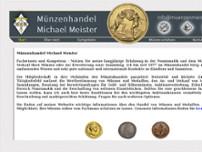 Münzhandel Michael Meister Münzen In Ludwigsburg Moltkestr 6