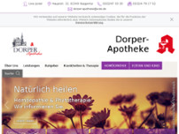 Dorper-Apotheke website screenshot