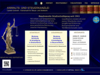 Carsten Schrank website screenshot