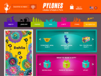Pylones website screenshot