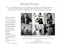 Studio Fuego website screenshot