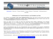 Tresortechnik Jarz website screenshot