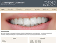 Uwe Heine website screenshot