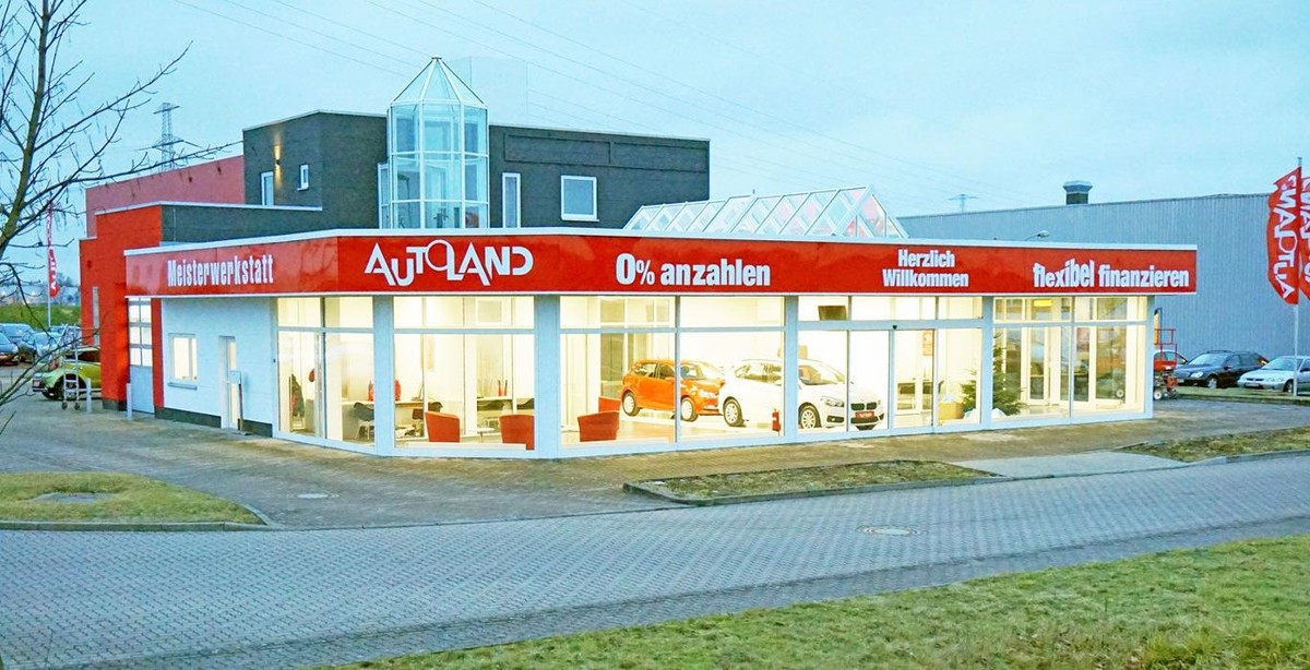autoland ag niederlassung rostock autohaus in rostock br ckenweg 2. Black Bedroom Furniture Sets. Home Design Ideas