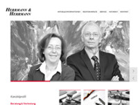 Helmut Hermann website screenshot