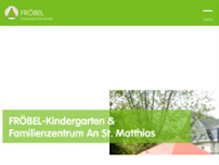 FRÖBEL-Kindergarten & Familienzentrum An St. Matthias website screenshot
