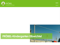 FRÖBEL-Kindergarten Elbwichtel website screenshot