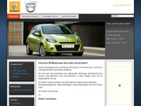Auto Gerstmann GmbH website screenshot