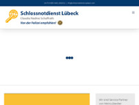 Schlossnotdienst Lübeck website screenshot