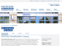 DA Direkt Versicherung Leipzig website screenshot