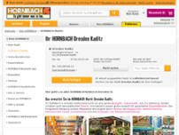HORNBACH Dresden website screenshot