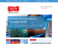 HICO Medical Systems | Hirtz & Co.KG website screenshot