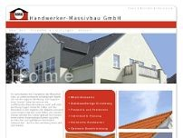 HAMA-Handwerker-Massivbau GmbH website screenshot