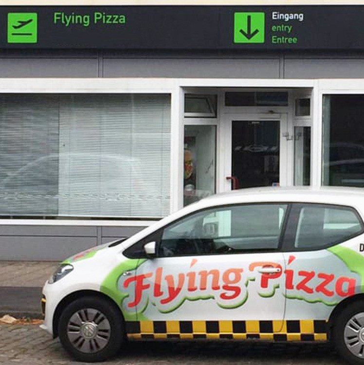 Bilder Flying Pizza