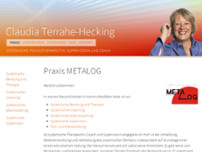 METALOG Terrahe-Hecking Claudia website screenshot
