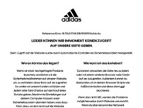 adidas Originals website screenshot