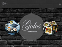 Brasserie Golos website screenshot